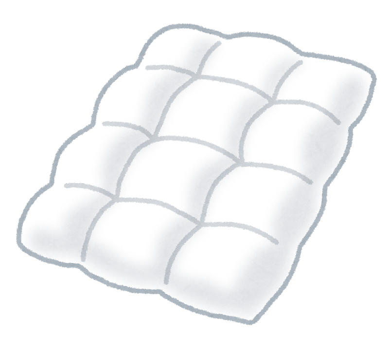 布団 白い 冬用布団