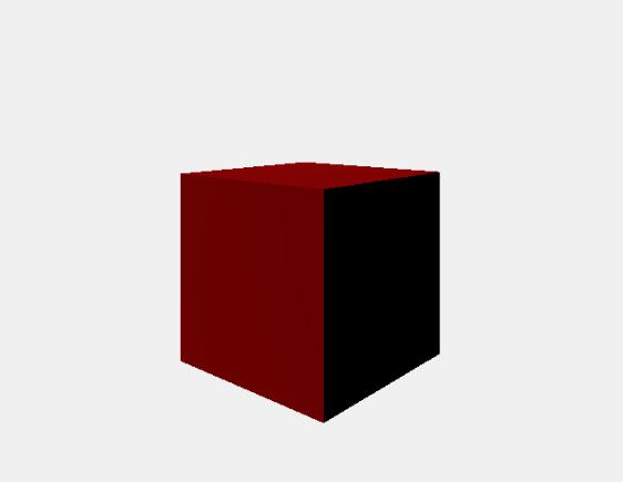 three.js phina.js 連携 赤いボックス