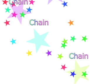 ゲーム クリックゲーム 星 連鎖 チェイン chain