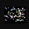 星 散らばる 飛んでいく キラキラ