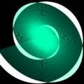 phina.js クリエイティブコーディング pathshape プログラミング 線 螺旋