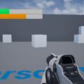 UnrealEngine4 シューティングゲーム ゲージ 一人称視点 ゲーム