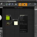 UnrealEngine4 マテリアルエディタ ビジュアルスクリプティング