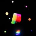 UnrealEngine4 マテリアル ワールド座標 ピクセル カラフル カメラ座標 スクリーンショット