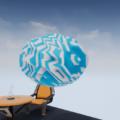 UnrealEngine4 マテリアル ローカル座標 スクリーンショット