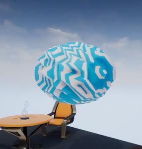 [UE4] 学習ノート7日目 -Unreal Engine 4 ローカル座標いじって変形させてみたマテリアル