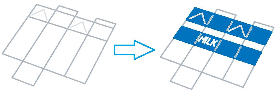 3DCGモデル UV展開 テクスチャ適用 シーム イメージ