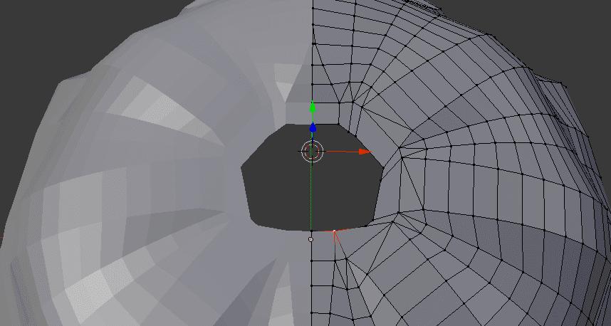 Blender 3DCG モデリング メンダコ スライム 制作過程 スクリーンショット