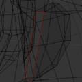 Blender シーム Seam 3DCG モデリング スクリーンショット