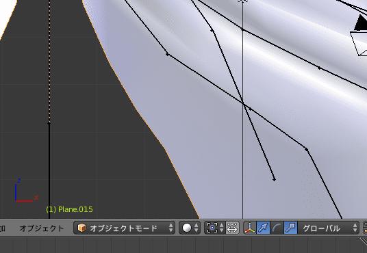 Blender 3DCG モデリング スキニング オブジェクトモード ボーン アーマチュア リグ ペアレント メッシュオブジェクト