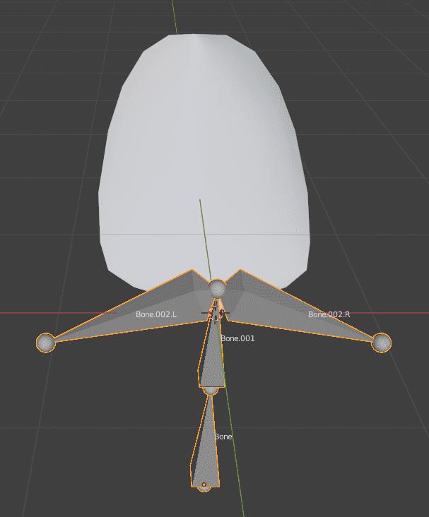 Blender ミラーモディファイアー 3DCG モデリング リギング スキニング アーマチュア ボーン