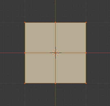 Blender 細分化 サブディビジョンサーフェス モディファイアー 3DCG モデリング 平面