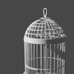 Blender ワイヤーフレーム モディファイアー 鳥籠 3DCG モデリング