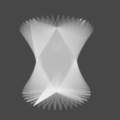 Blender Spin Smooth スピン スムーズ 3DCG モデリング