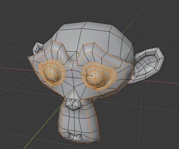Blender シャープ 辺 3DCG モデリング