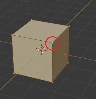 Blender アクティブ要素 頂点選択 3DCG モデリング