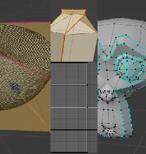[Blender 2.8]クリース、シーム、シャープの違い