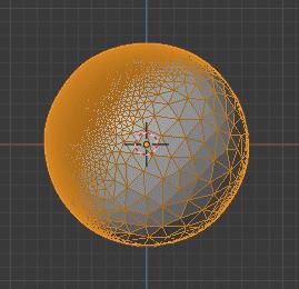 Blender ポリゴン数削減 モディファイアー 3DCG モデリング ICO球