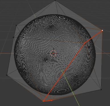Blender ポリゴン数削減 モディファイアー 3DCG モデリング ICO球 シーム