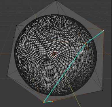 Blender ポリゴン数削減 モディファイアー 3DCG モデリング ICO球 シャープ