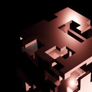 Blender マスク ソリッド化 辺分離 モディファイアー 3DCG モデリング Cube 立方体