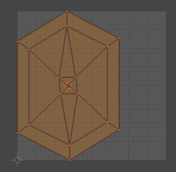 Blender シーム 辺 3DCG モデリング 牛乳パック シーム無し
