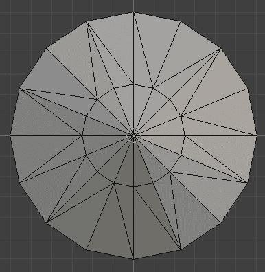 Blender 三角面化 モディファイアー 3DCG モデリング ダイヤモンド