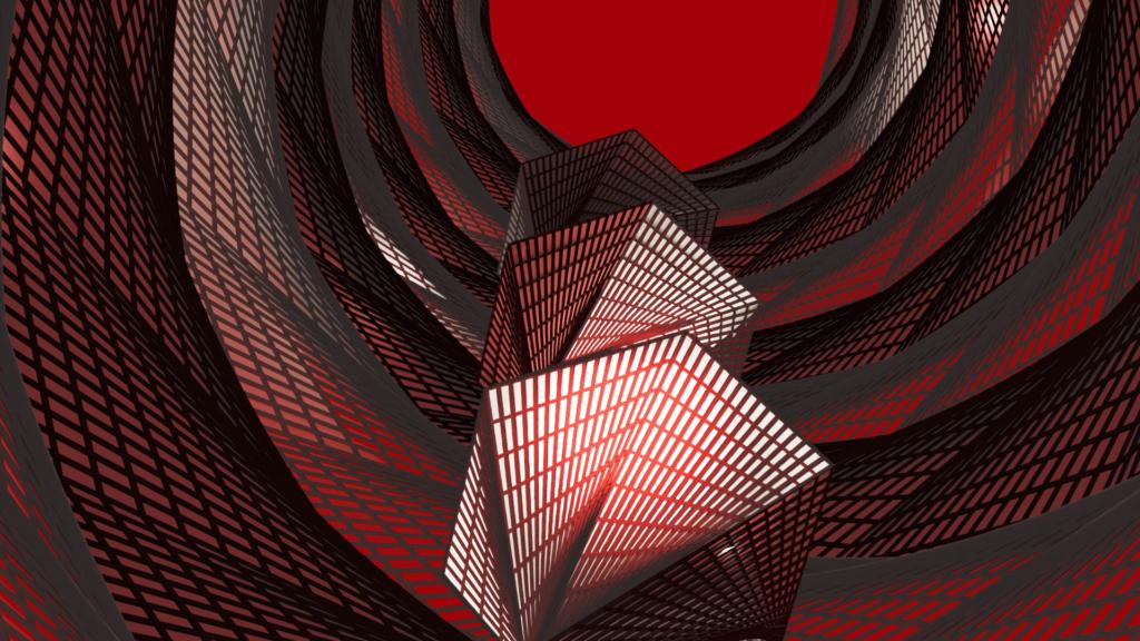 Blender ワイヤーフレーム クスリュー モディファイアー 3DCG モデリング