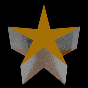 [Blender 2.8] 平面から簡単に立体オブジェクトへ[ソリッド化モディファイアー]