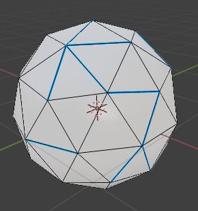 Blender ベベルウェイト 辺メニュー 3DCG モデリング