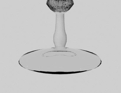 Blender 法線 normals 3DCG モデリング グラス