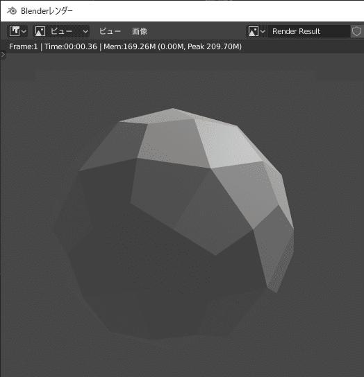 Blender マルチレゾリューション モディファイアー 3DCG モデリング レンダー