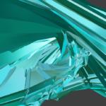 Blender シェーディング フラット 3DCG モデリング 螺旋