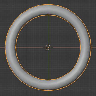 Blender 重さ付き法線 モディファイアー 3DCG モデリング トーラス