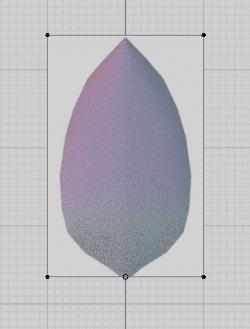 Blender 花びら ポリゴン 3DCG モデリング