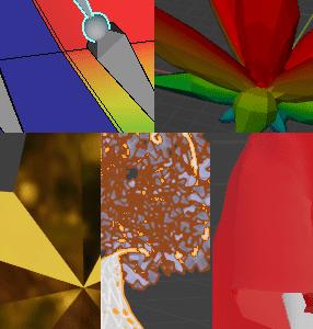 "[Blender 2.8] 頂点のグループ分けと""重み""の管理 [頂点グループ]"