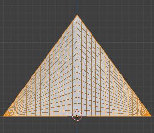 Blender 頂点ウェイト編集 モディファイアー 3DCG モデリング 減衰 リニア