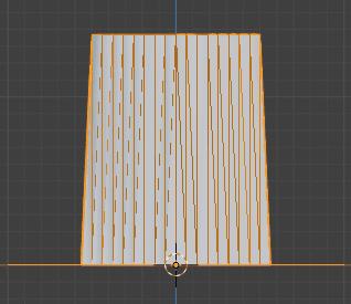 Blender 頂点ウェイト編集 モディファイアー 3DCG モデリング 減衰 中央値ごと