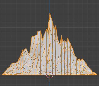 Blender 頂点ウェイト編集 モディファイアー 3DCG モデリング 減衰 ランダム