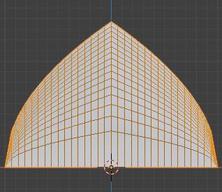 Blender 頂点ウェイト編集 モディファイアー 3DCG モデリング 減衰 ルート