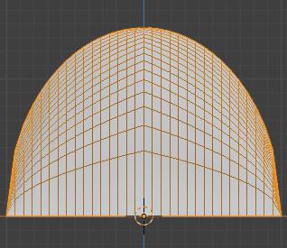 Blender 頂点ウェイト編集 モディファイアー 3DCG モデリング 減衰 球状