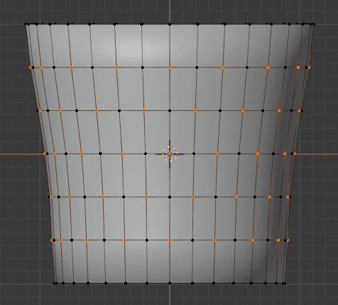 Blender 頂点ウェイト編集 モディファイアー 3DCG モデリング