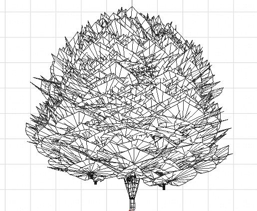 Blender アドオン カーブ Add-on Sapling_Tree_Gen 3DCG モデリング 木 DupliVerts 葉っぱ 桂