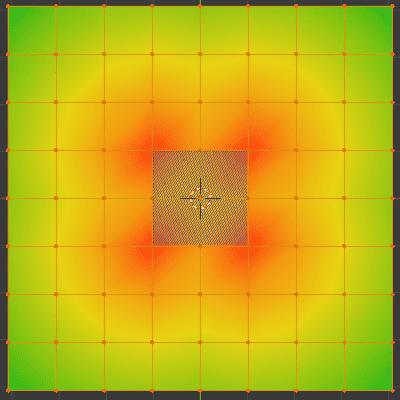 Blender 頂点ウェイト近傍 モディファイアー 頂点グループ 3DCG モデリング