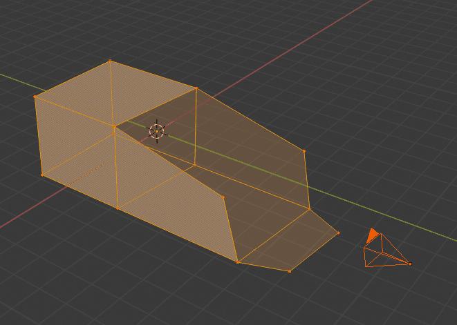 Blender fSpy Import カメラオブジェクト 下絵 和室 画像 メッシュオブジェクト 3DCG モデリング