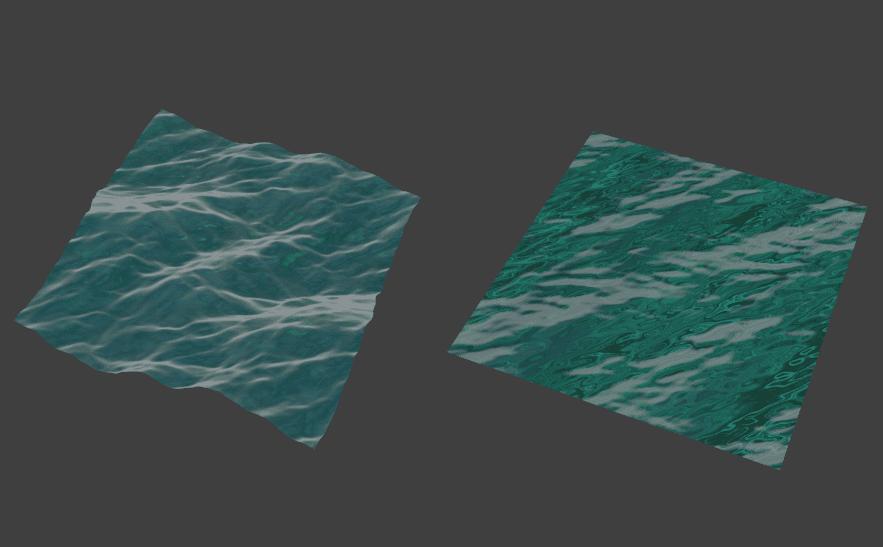 Blender 海洋 モディファイアー 3DCG モデリング