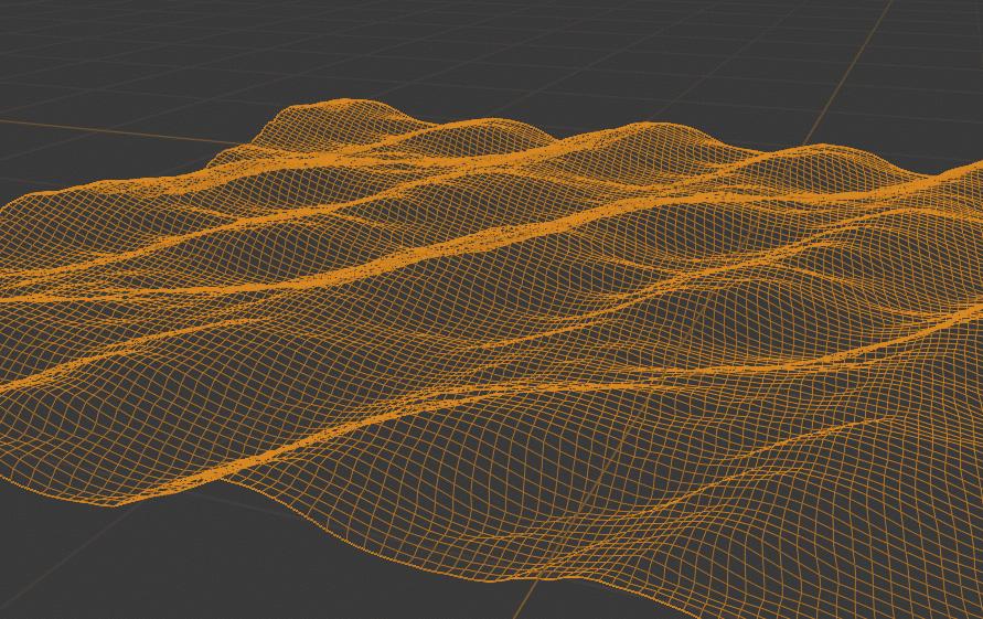 Blender 海洋 モディファイアー ディスプレイスメント 3DCG モデリング