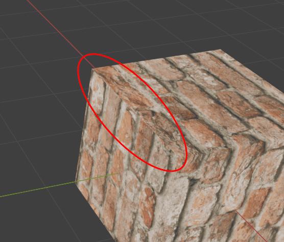 Blender テクスチャマッピング 3DCG モデリング 継ぎ目 画像テクスチャ