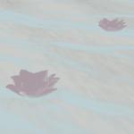 Blender 海洋 モディファイアー 海 砂浜 浅瀬 花 蓮 3DCG モデリング