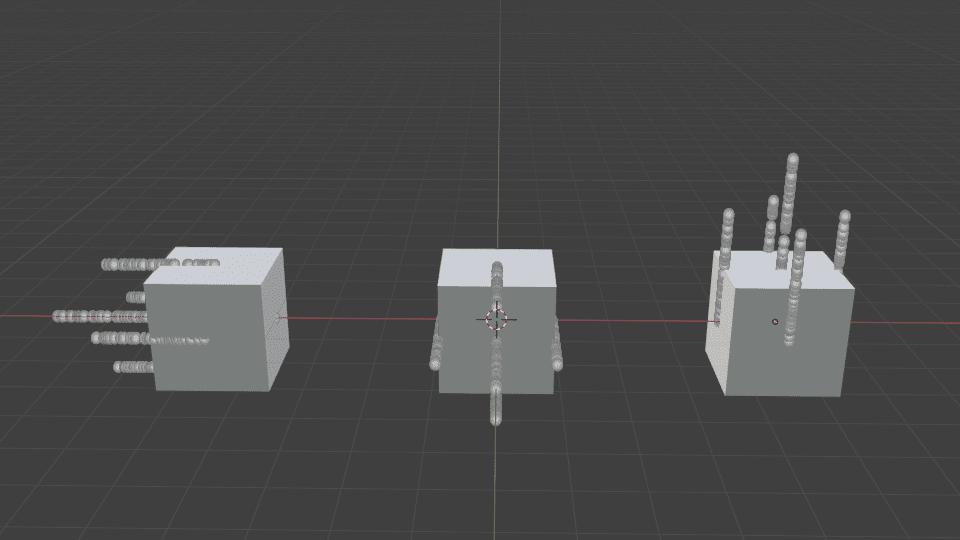 Blender パーティクル エミッター ハロー 3DCG